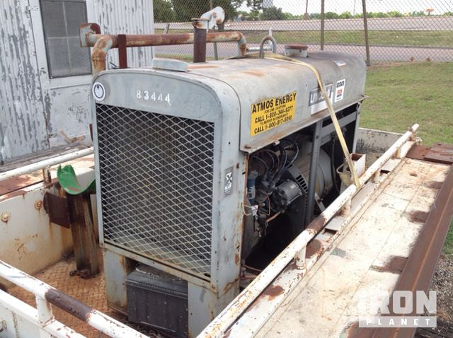 Lincoln Electric SA200 Engine Driven Welder w/ Utility Trailer in