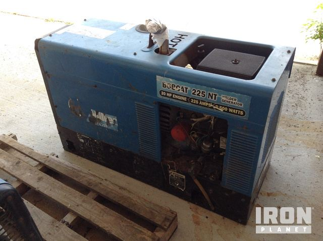 Miller Bobcat 225NT Engine Driven Welder in Prairieville