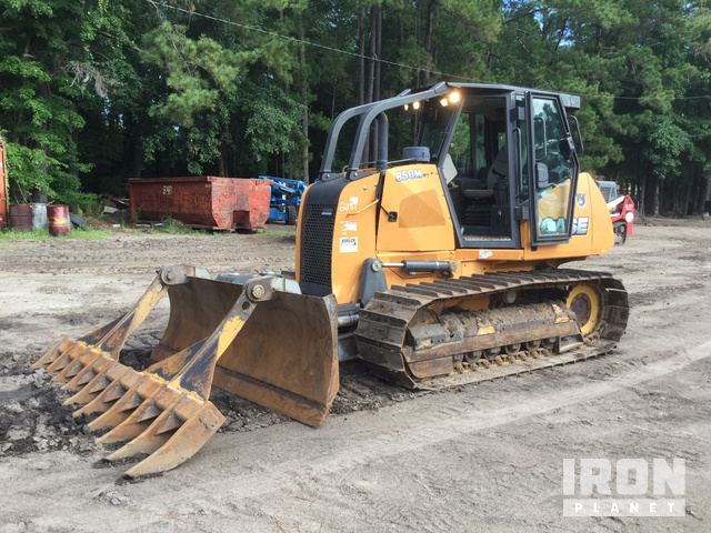 2013 Case 850M WT Crawler Dozer in Beaufort, South Carolina, United