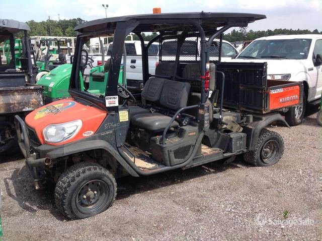 2016 Kubota RTV-X1140 4x4 Utility Vehicle in Humble, Texas ... on
