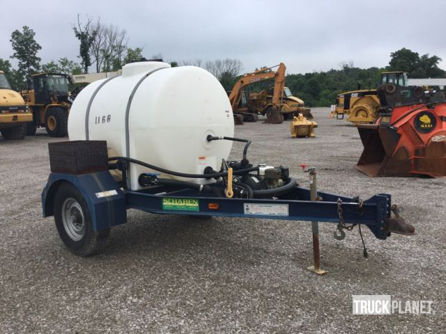Schaben Industries Water Tank Trailer in Walton, Kentucky