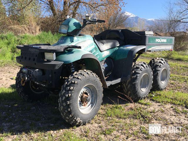Surplus 2000 Polaris Sportsman 6x6 ATV in Farr West, Utah