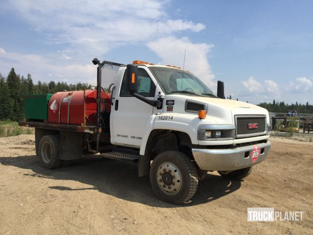 2008 GMC C5500 4x4 S/A Flatbed Truck in Fort Mackay, Alberta
