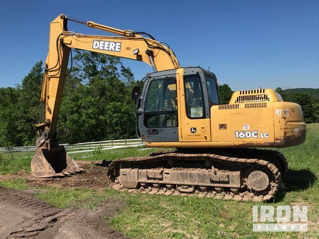 2005 John Deere 160CLC Track Excavator in Noxen