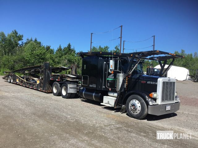 2005 Peterbilt 379 Car Carrier Truck w/ Auto Transport