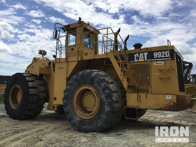 cat 992d wheel loader in val d or quebec canada ironplanet item rh ironplanet com