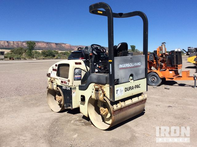 2000 Ingersoll-Rand DD-24 Vitory Double Drum Roller in ... on