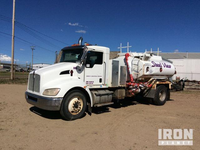 2009 Kenworth T300 S/A Vacuum Tanker Truck in Provost, Alberta