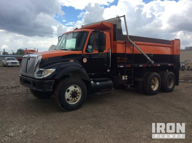 55434f040f 2005 International 7500 T A Dump Truck
