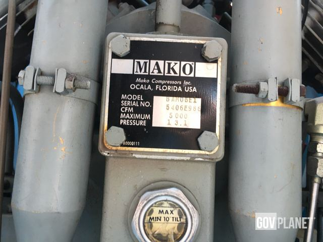 Surplus Mako BAM06 Breathing Air Module in Agat, Guam