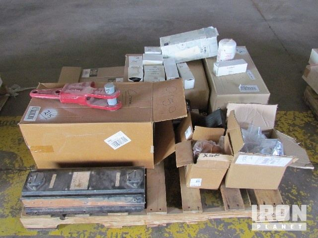 Pallet of TEREX AC-140 Crane Parts Consisting of… in