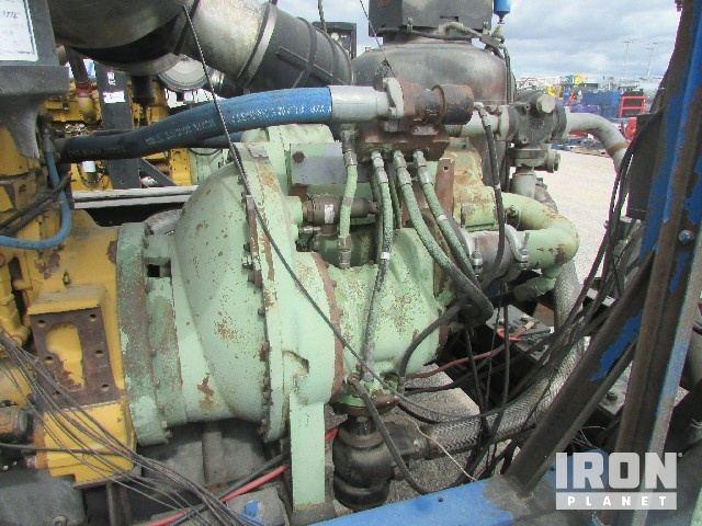 SULLAIR 1050/350 Air Compressor p/b CAT C-15 540… in