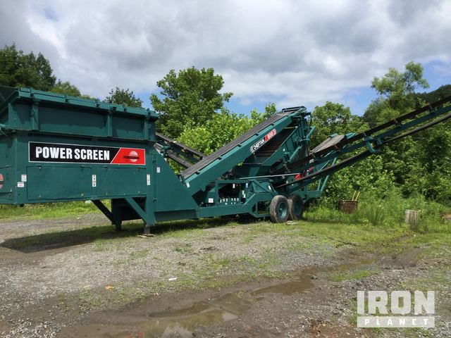 Powerscreen Chieftain 800 Portable Screen Plant in Philippi