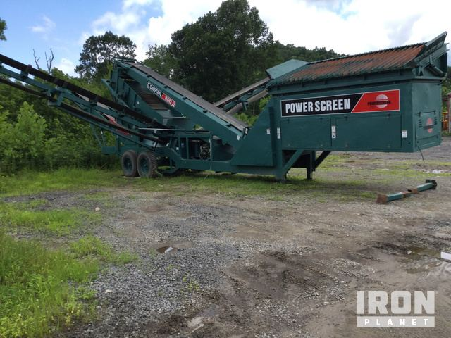 Powerscreen Chieftain 800 Portable Screen Plant in Philippi, West