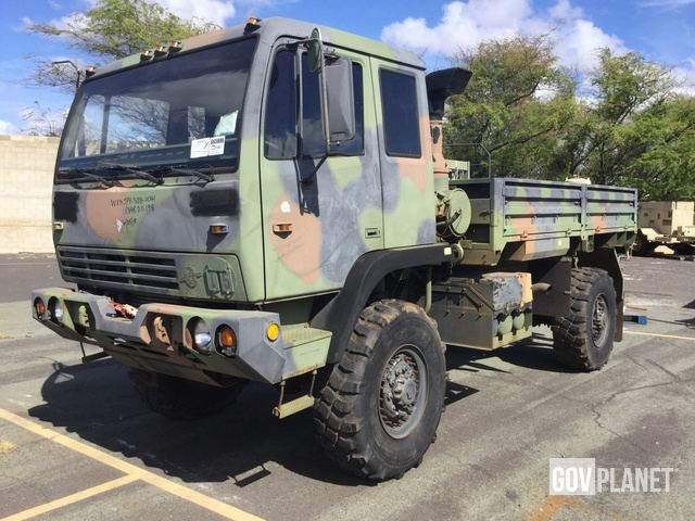 Surplus 1998 Stewart & Stevenson M1078 LMTV 4x4 Cargo Truck in Pearl on