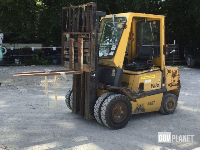 Yale GP050VX Forklift Specs & Dimensions :: RitchieSpecs