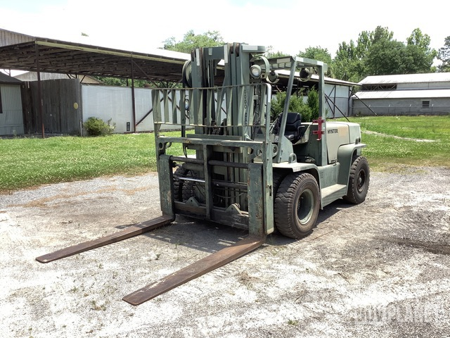 Hyster H155XL Pneumatic Tire Forklift, Forklift