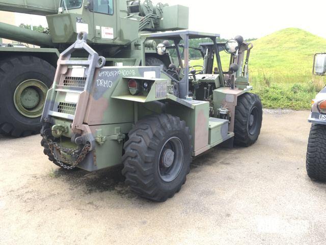 Surplus Entwistle MHE-270 Rough Terrain Forklift in Columbia