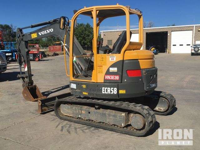 volvo ecr58 mini track excavator in englewood colorado united rh ironplanet com User Manual PDF MTD Products Manuals
