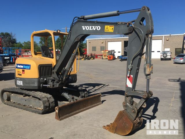 volvo ecr58 mini track excavator in englewood colorado united rh ironplanet com MTD Products Manuals User Manual