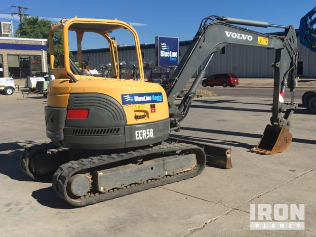 volvo ecr58 mini track excavator in englewood colorado united rh ironplanet com User Manual Farm Equipment Manuals