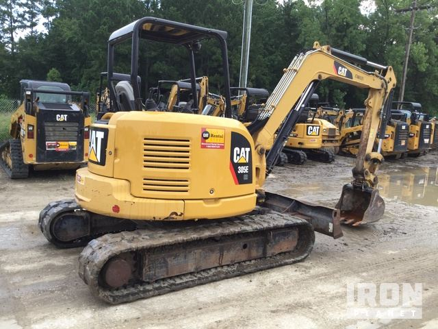 2013 Cat 305E CR Mini Excavator in Summerville, South