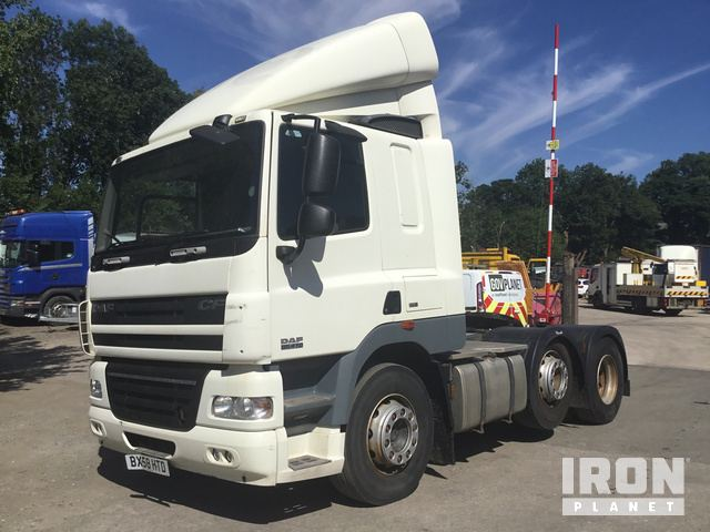2008 Daf CF 85 410 6x2 Tractor Unit in Ingleton, North