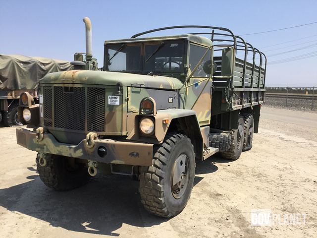 Surplus Am General M35a3 2 1 2 Ton 6x6 Cargo Truck In Tracy