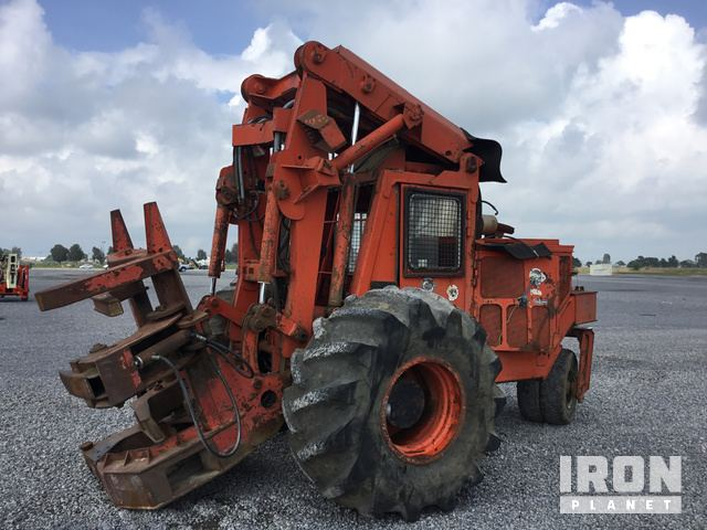 Wheel Feller Buncher, Feller Buncher