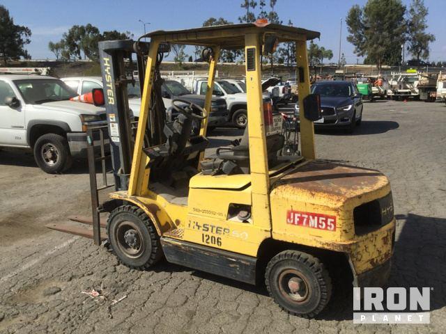 Hyster H50XL Pneumatic Tire Forklift in Norwalk, California