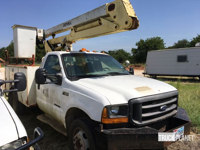 Lift-All Bucket on 1999 Ford F-450 Super Duty Truck in Dime