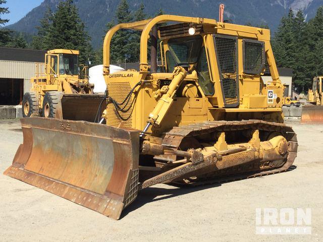 Cat D7G Crawler Dozer in Hope, British Columbia, Canada (IronPlanet