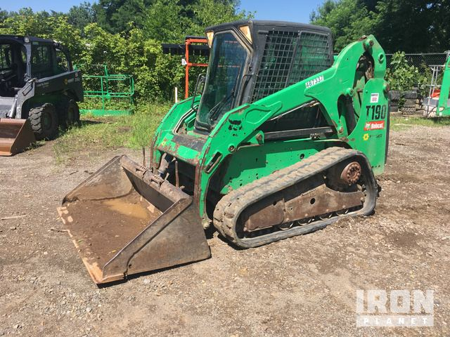 2012 Bobcat T190 Compact Track Loader in Heath, Ohio, United