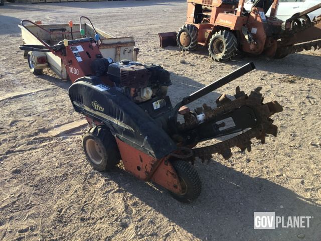 Surplus Ditch Witch 1030h Walk Behind Trencher In Yermo