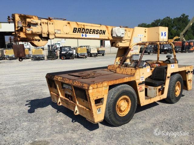 2008 Broderson IC-80-2G Carry Deck Crane in Geismar
