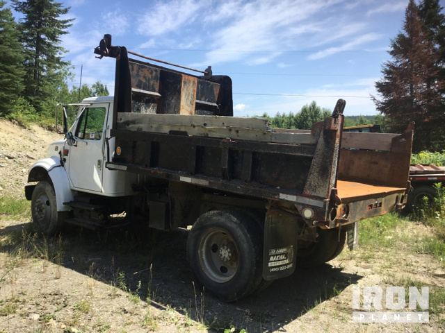 2001 International 4700 S A Dump Truck In St Andre New