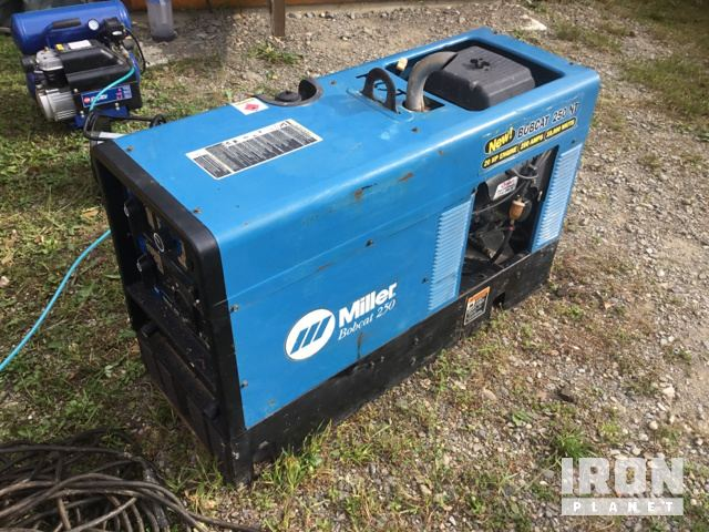 Miller Bobcat 250 Engine Driven Welder in St Andre, New