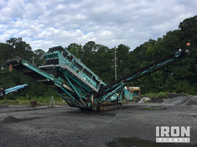 2008 Powerscreen Chieftain 1700 Tracked Mobile Screen Plant