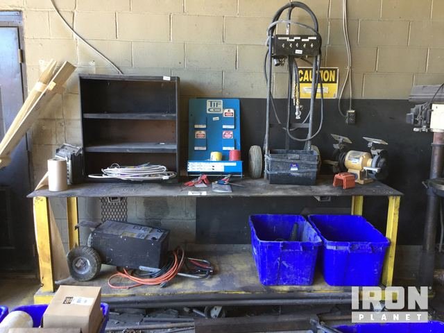 Excellent Lot Of Bench Grinder Battery Charger Trailer Light Tester Squirreltailoven Fun Painted Chair Ideas Images Squirreltailovenorg