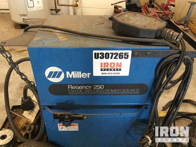 Miller Regency 250 Electric Welder in Niles, Illinois, United States ...