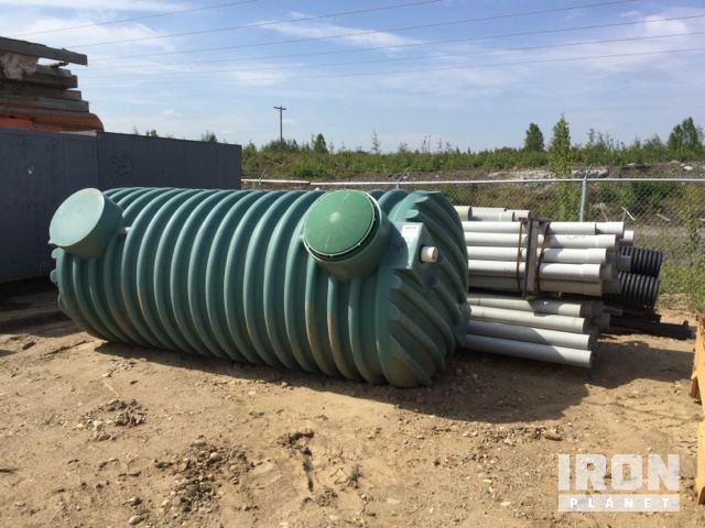 Septic Tank - Unused & Lot of Pipe in Fort Mackay, Alberta