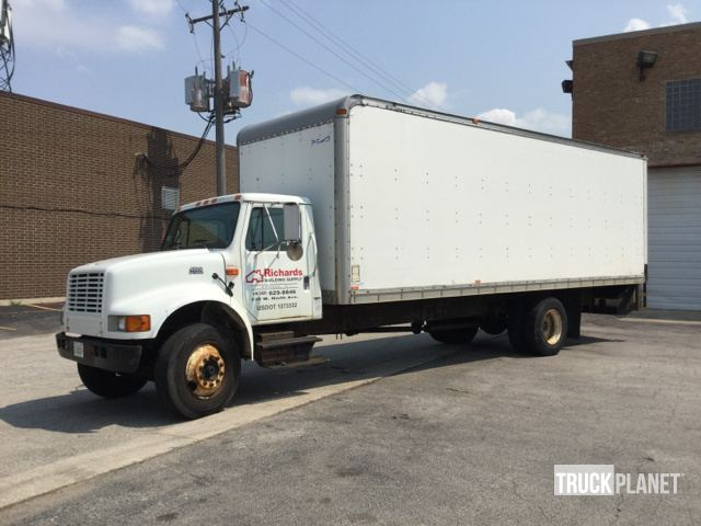 2001 International 4700 Cargo Truck In Addison Illinois