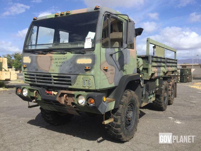 Surplus 2000 Stewart & Stevenson M1083A1 MTV 6x6 Cargo Truck ... on
