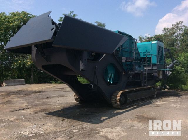 2005 Terex Pegson AX872 Trakpactor Tracked Mobile Impact