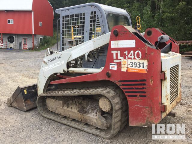 2007 Takeuchi TL140 Compact Track Loader in West Decatur