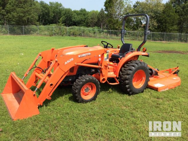 2014 Kubota L2501D 4WD Tractor, Poteau, Oklahoma, Estados