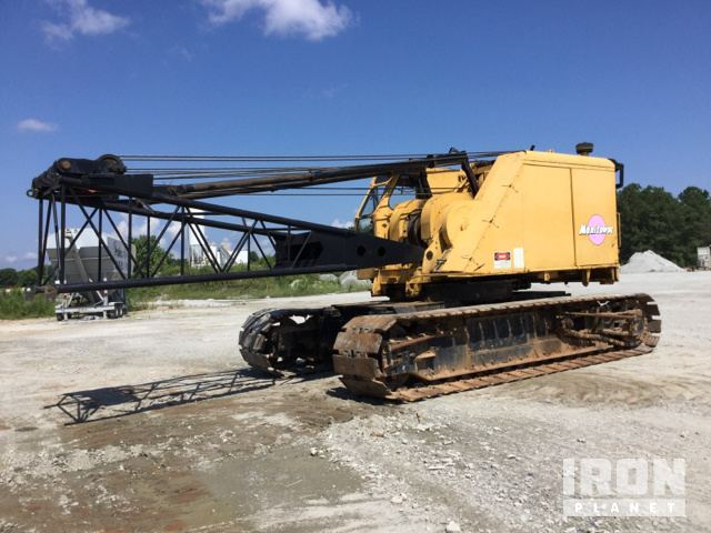 1968 Manitowoc 2900WC Lattice-Boom Crawler Crane in Palmetto ... on