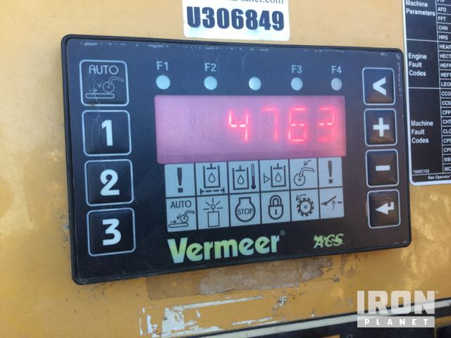 2005 Vermeer HG6000TX Horizontal Grinder in Jeffersonville
