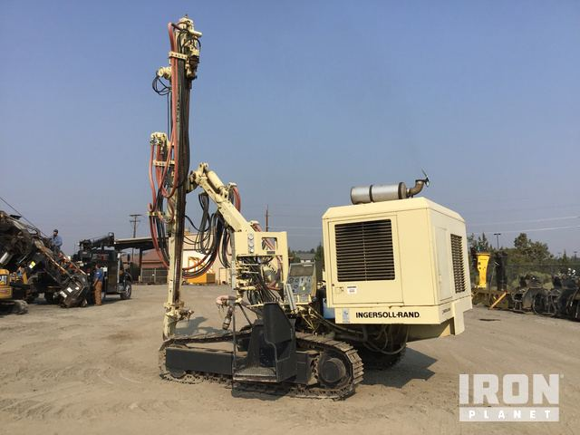 Ingersoll-Rand ECM-370 Crawler Mounted Blast Hole Drill in