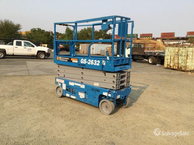 2017 Genie GS-2632 Electric Scissor Lift in Benicia, California